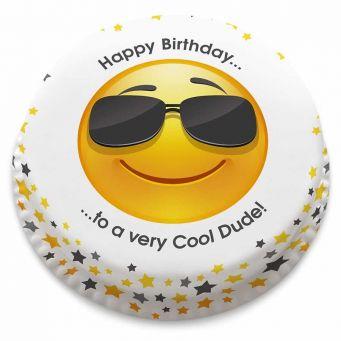 Cool Emoji Cake
