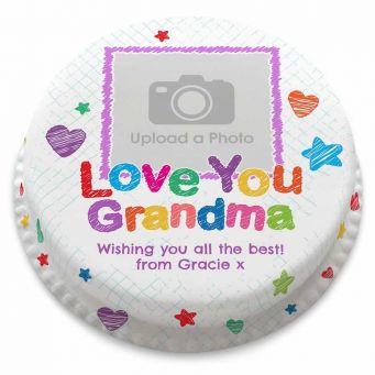Love You Grandma Cake