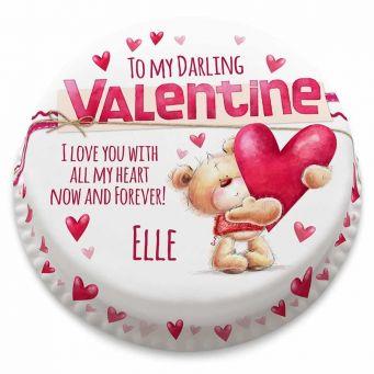 Valentines Ted Cake