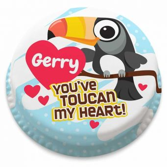 Toucan My Heart Cake