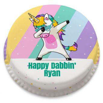 Unicorn Dab Cake