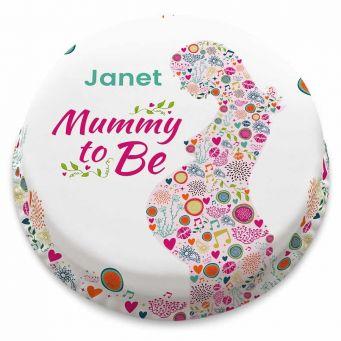 Mummy to Be Cake
