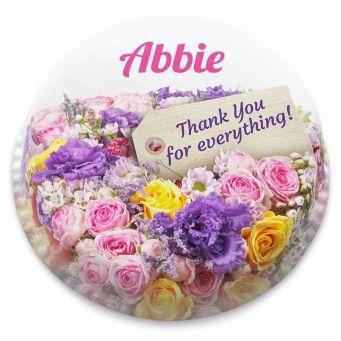 Pink Bouquet Cake