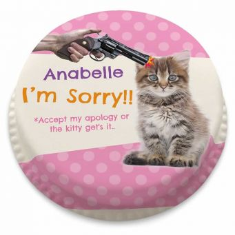 Accept my Apology Cake