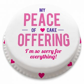 Peace Offering Cake