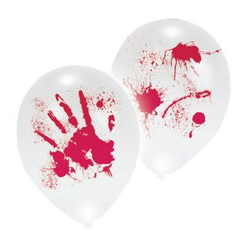 Halloween LED Latex Balloons