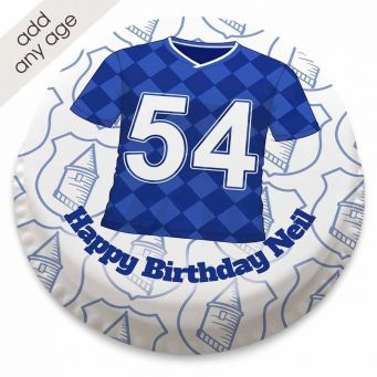 Everton F.C. Themed Football Shirt Cake