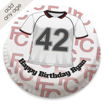 Fulham F.C Themed Shirt Cake