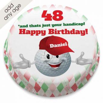 Golf Buddy Cake