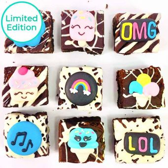 Limited Edition Ice Cream Brownies
