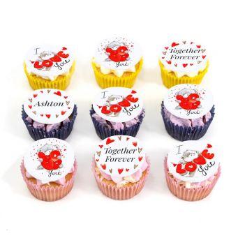 9 Love Bear Cupcakes