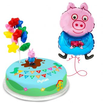 Peppa pig George Gift Set