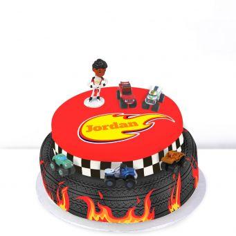 Tiered Blaze Cake