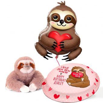 Sloth Birthday Gift Set