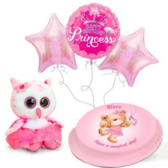 Ballerina Teddy Gift Set