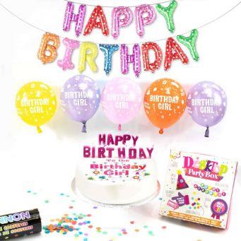 Birthday Girl Party Box