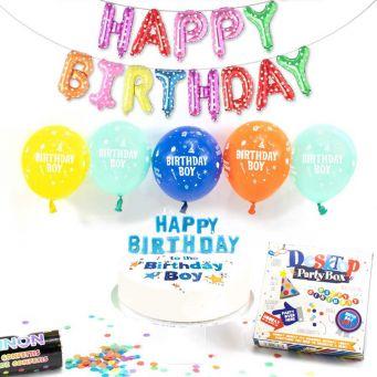 birthday boy party box