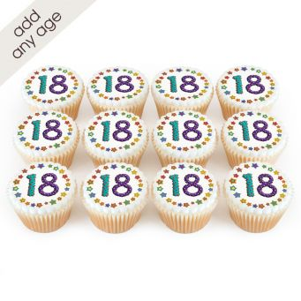 12 Any Age Cupcakes
