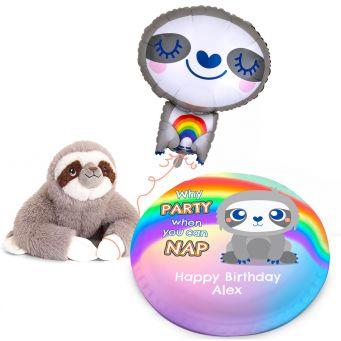 Jumbo Sloth Gift Set