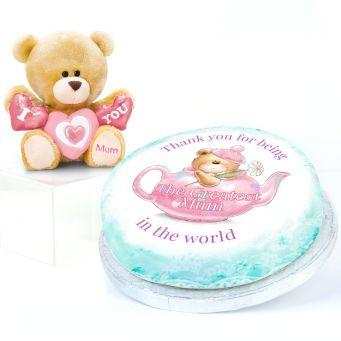 Teapot Teddy Gift Set