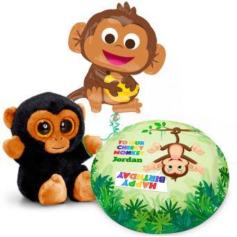 Jumbo Monkey Gift Set