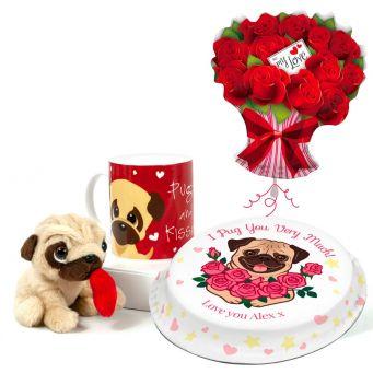 Pug in a Mug Gift Set