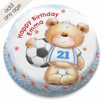 Ted Football Fan Cake