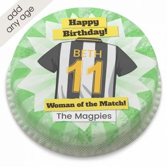 The Magpies Shirt Cake