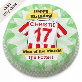 The Potters Shirt Cake