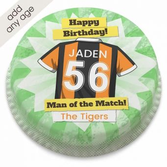 The Tigers Shirt Cake