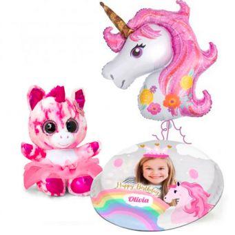 Pastel Pink Unicorn Gift Set