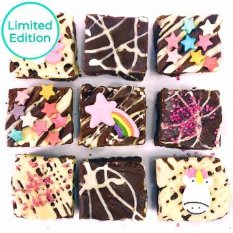 Limited Edition Unicorn Brownies