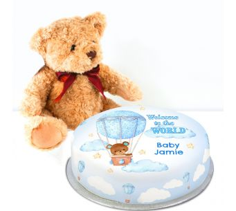 Welcome Bear Baby Gift Set!