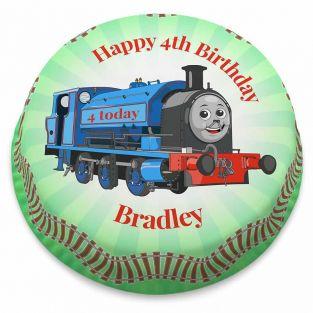 Little Blue Train Cake