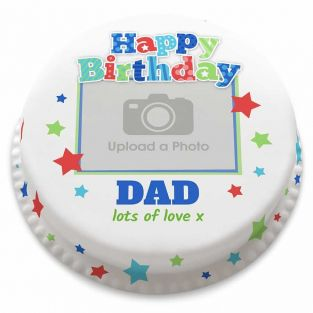 Happy Birthday Dad Cake