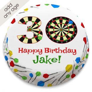 Any Age Darts Cake