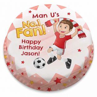 Red No.1 Fan Cake