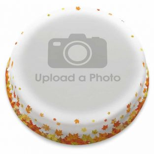 Leafy Full Photo Cake