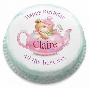 Birthday Ted Cake
