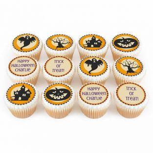 12 Silhouette Cupcakes