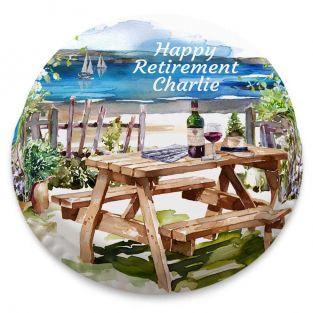 Seaside Retirement Cake