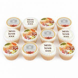 12 Autumn Cupcakes