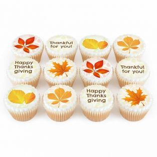 12 Leaf Cupcakes