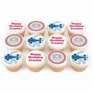 12 Speed Racer Cupcakes