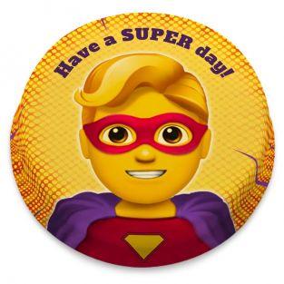 Super Man Comic Cake
