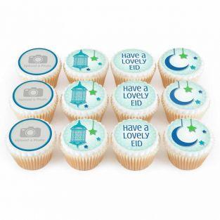 12 Eid Photo Cupcakes
