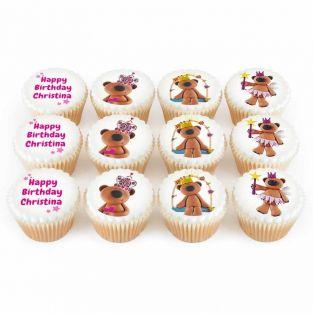 12 Pretty Teddy Cupcakes