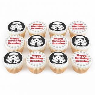 12 Space Trooper Cupcakes
