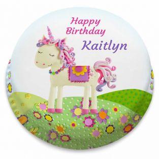 Pretty Unicorn Birthday Cake