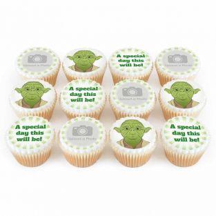 12 Green Master Photo Cupcakes